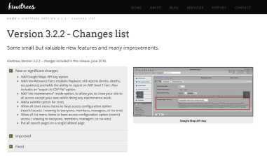 Change lists - featured image